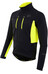 PEARL iZUMi ELITE Escape Softshell Jacket Men Black/Screaming Yellow